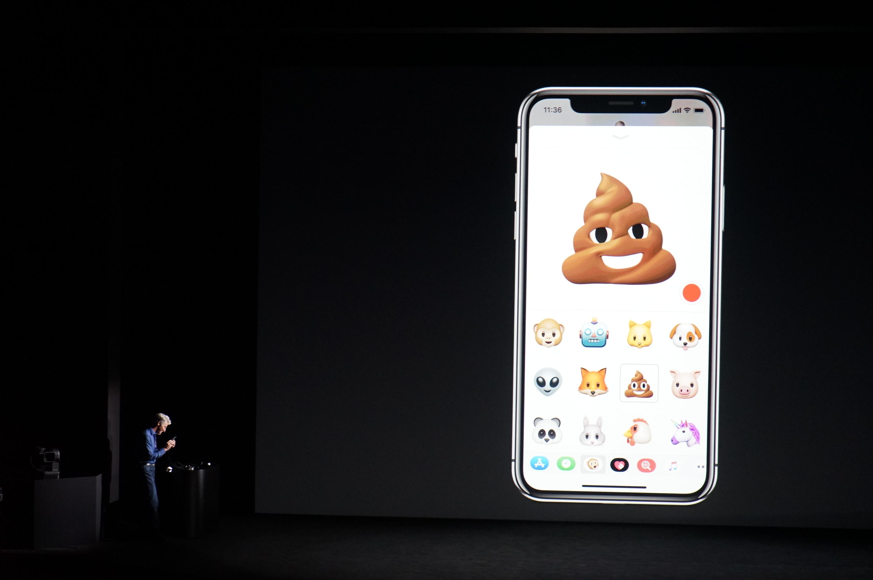 September 2017 - The iPhone X changes things up