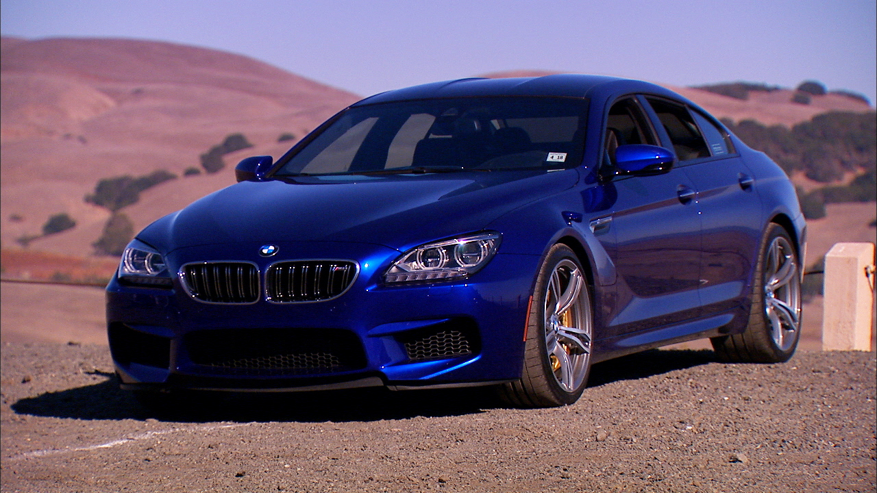 Video: BMW's M6 Gran Coupe, a big, effortless rocket ride (CNET On Cars, Episode 30)