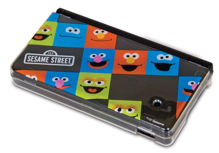 Case and decals for Nintendo's DSi