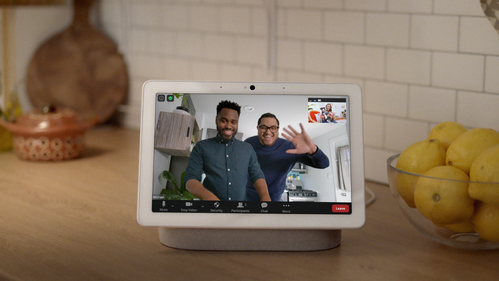 Zoom rollout begins for Google Assistant smart displays
