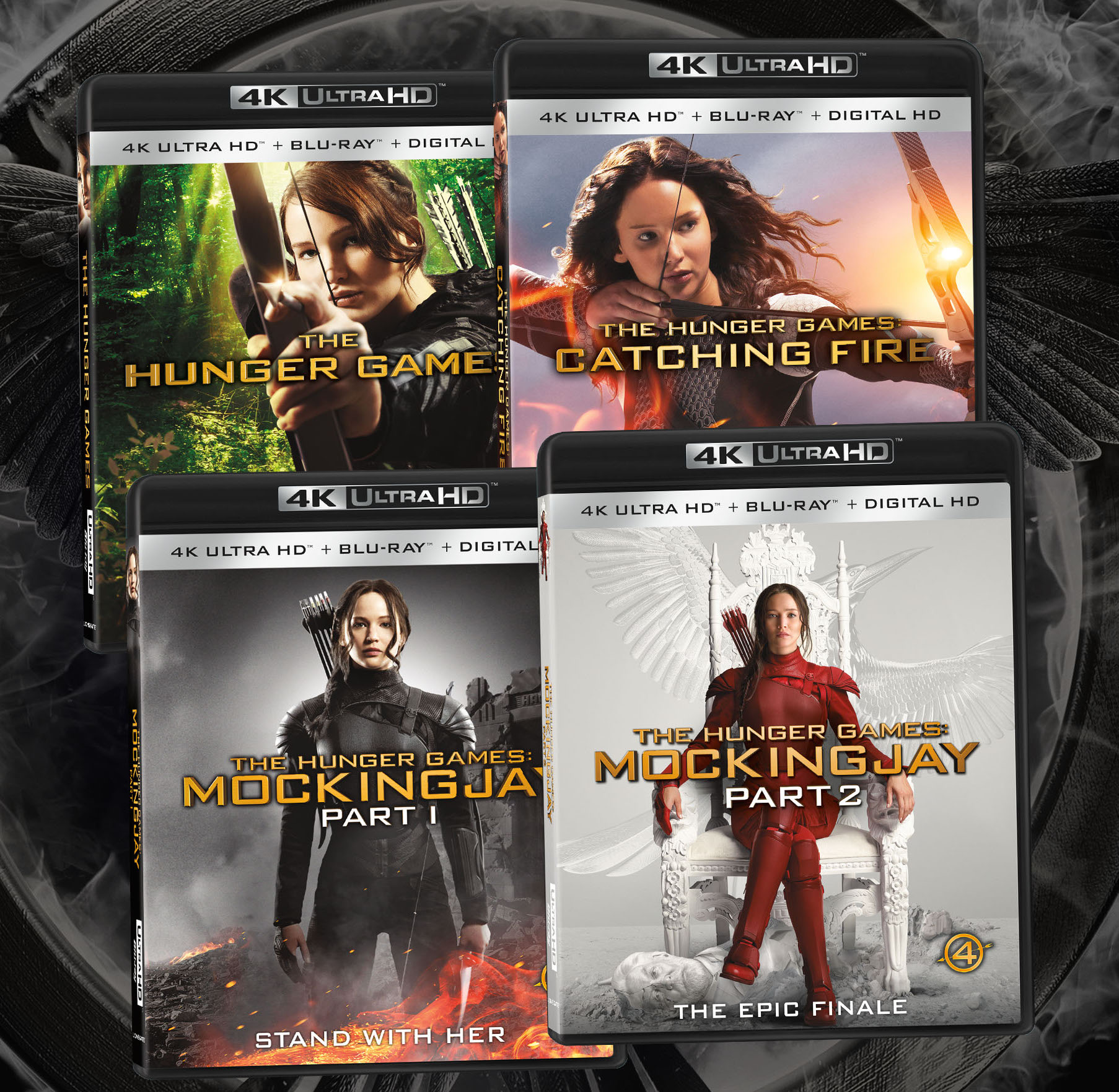 The Hunger Games Complete Collection