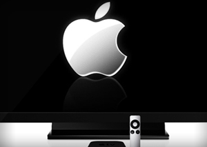Apple's got a 50-inch TV set in its labs, a new report says.