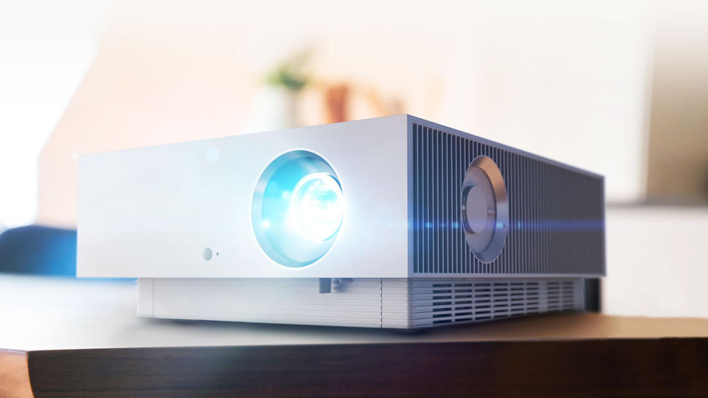 LG launches laser-powered 4K HDR projector at CES 2021