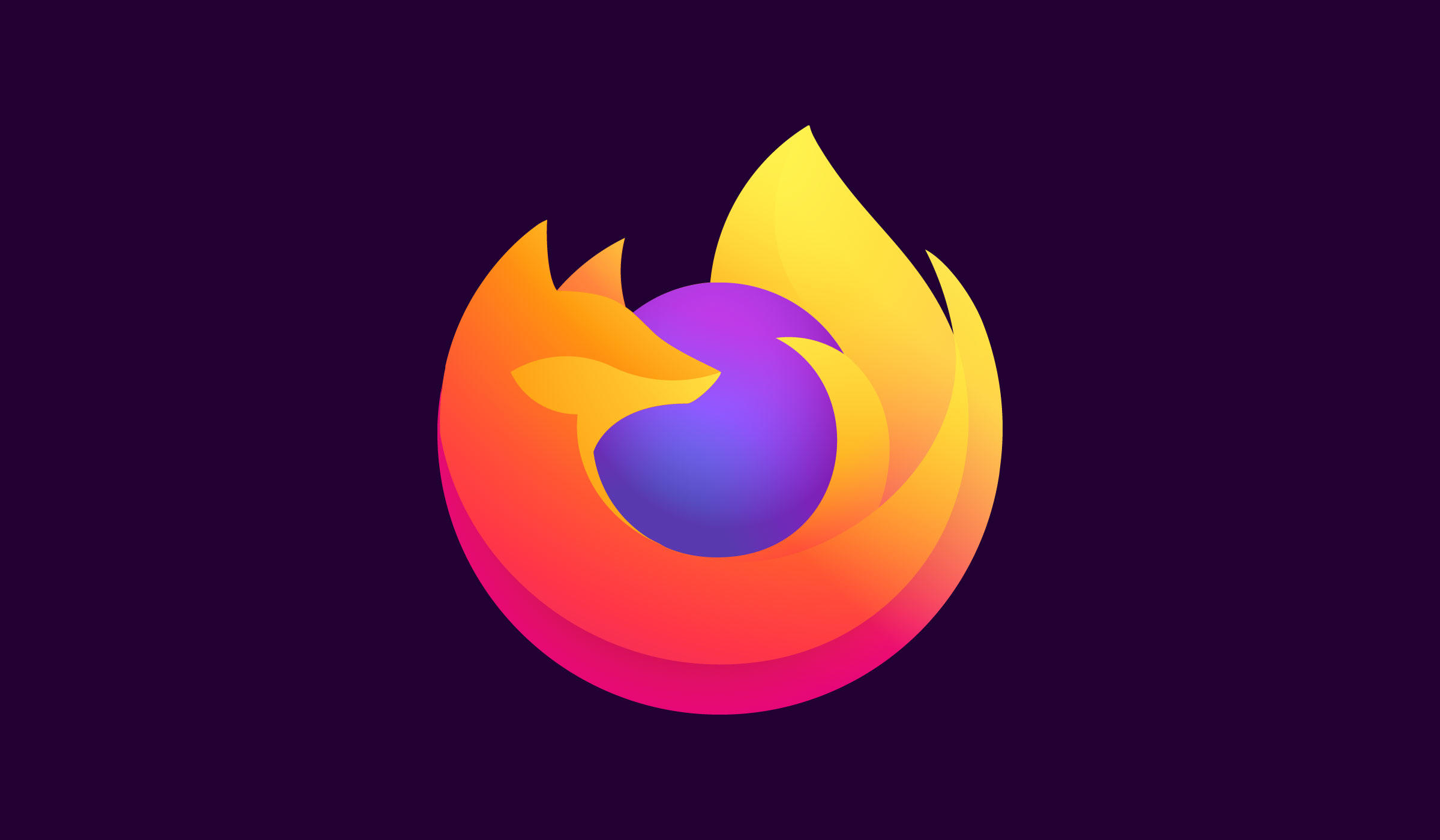 A simplified new Firefox icon