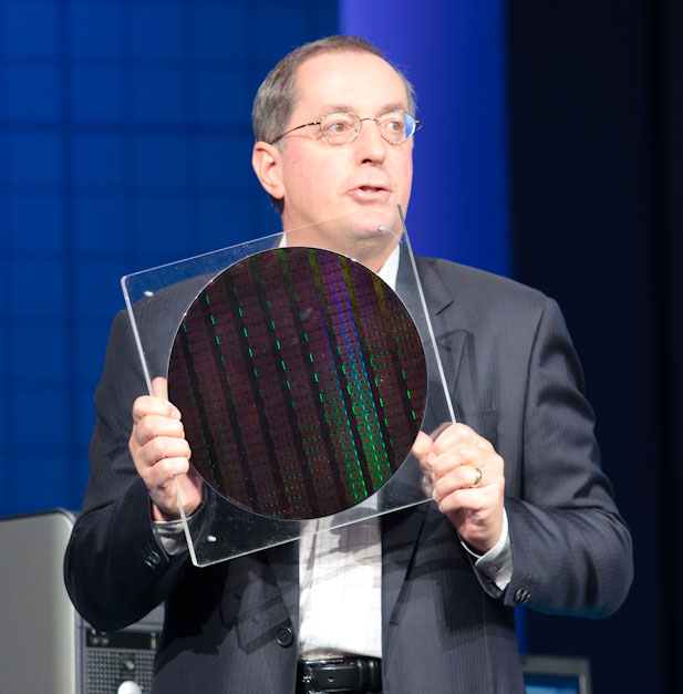 Otellini and the 22nm wafer