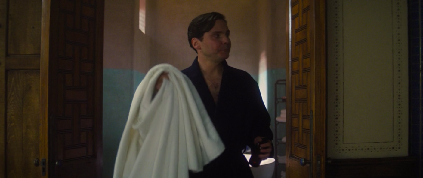 Zemo with towel