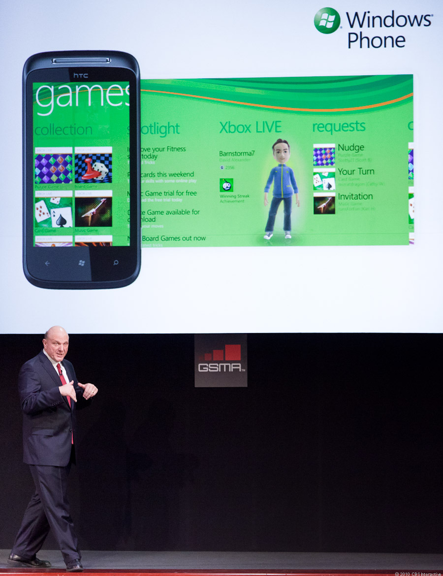 Xbox extends on Windows Phone 7