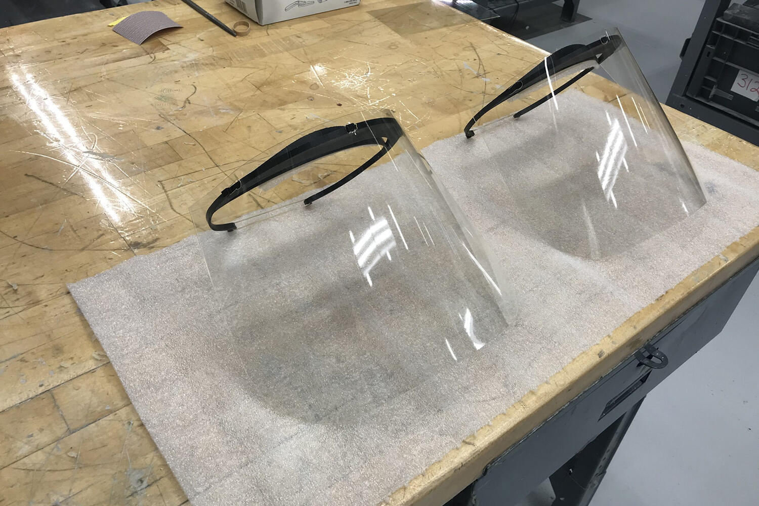 Toyota 3D-printed face shield