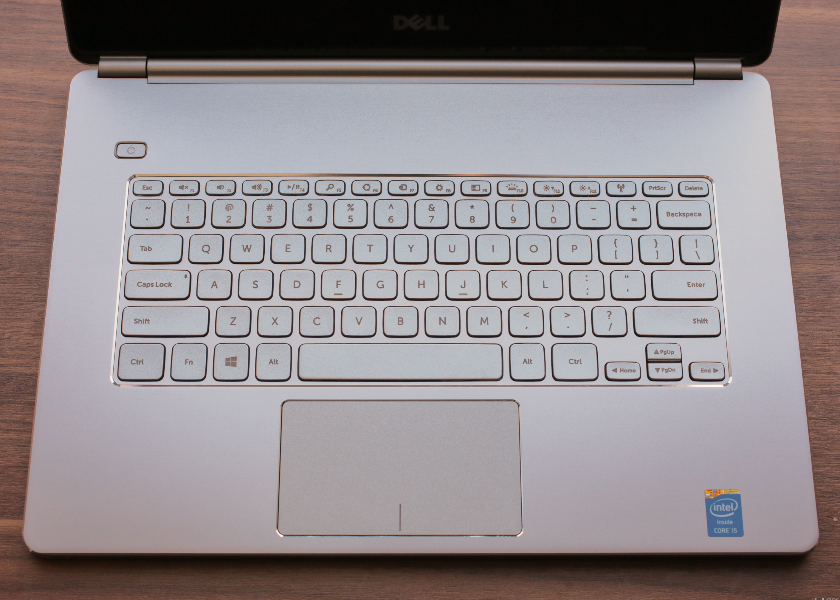 Keyboard and touch pad