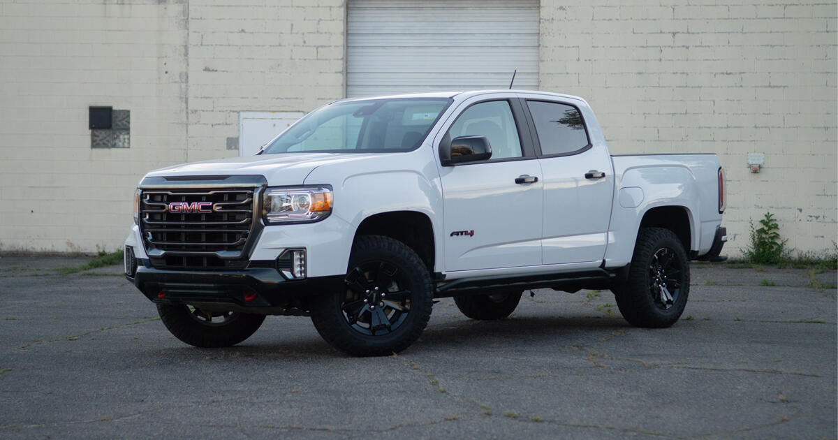 2021 GMC Canyon AT4 review: An old truck with a few new tricks     - Roadshow
