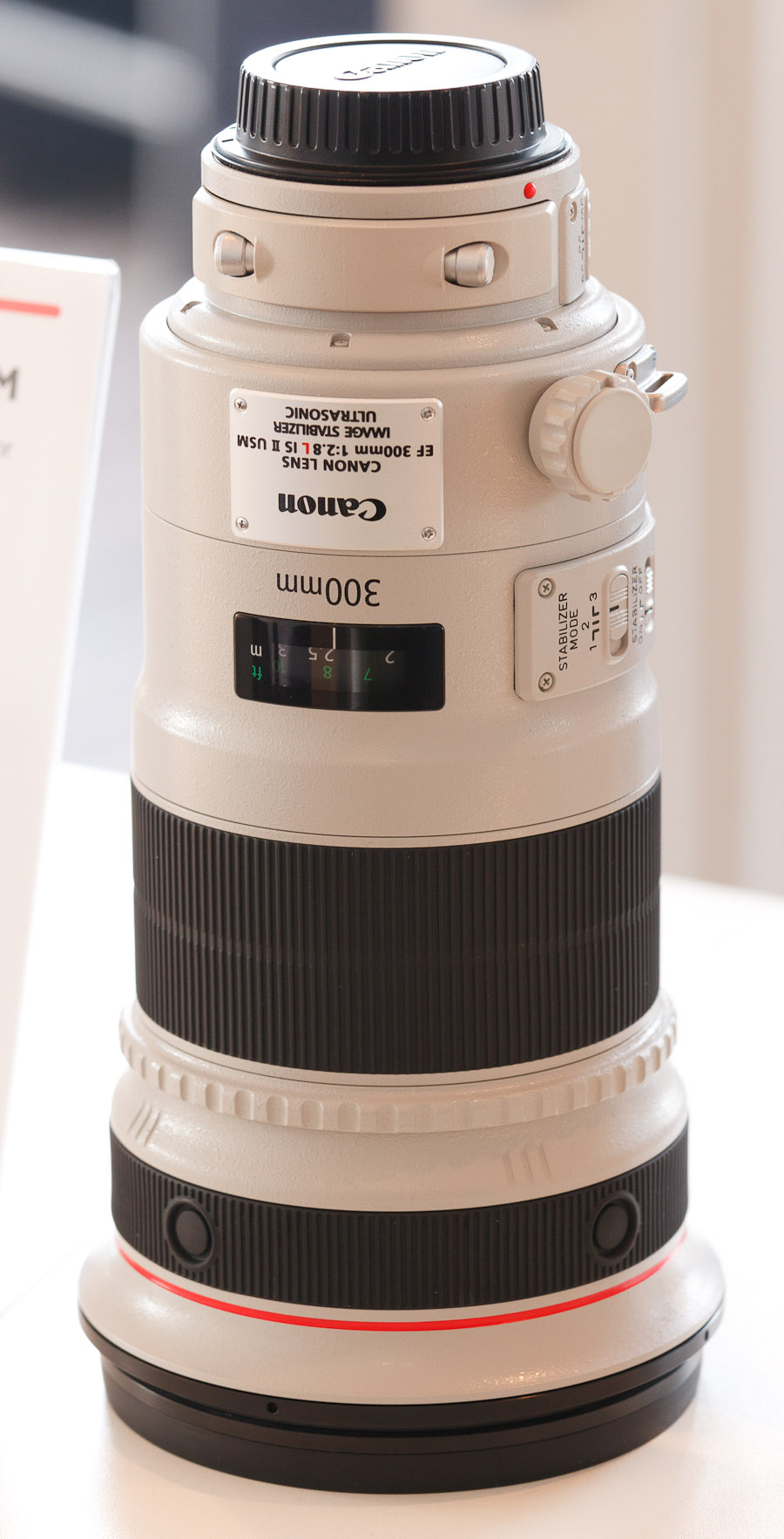 Canon's new second-generation 300mm F2.8 lens