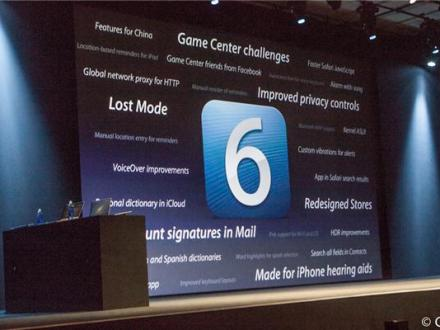 A look at the new features in iOS 6.