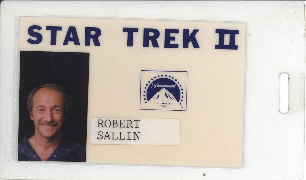 Robert Sallin's ID card