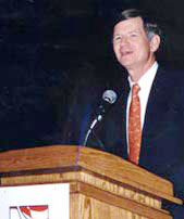 Rep. Lamar Smith, speaking in 2003 to a New York-based music industry group that has lobbied for SOPA.
