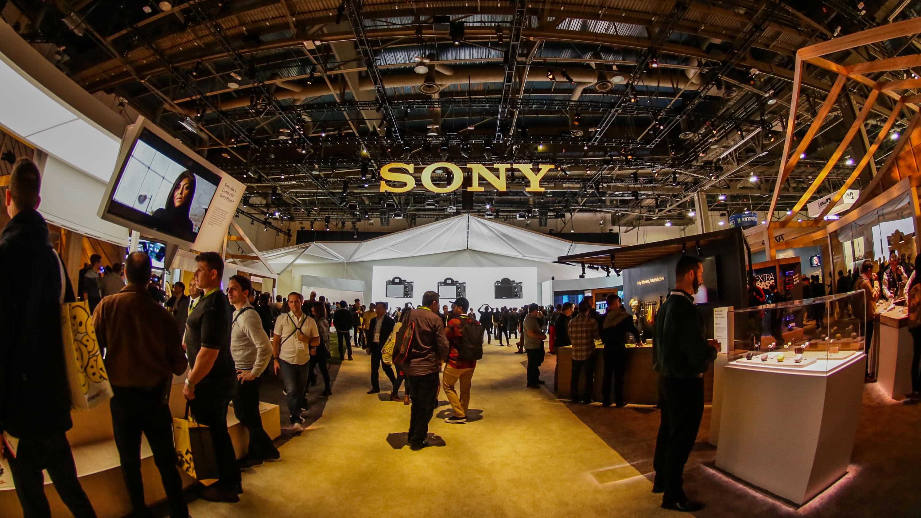Big Booths of CES 2018: Central Hall