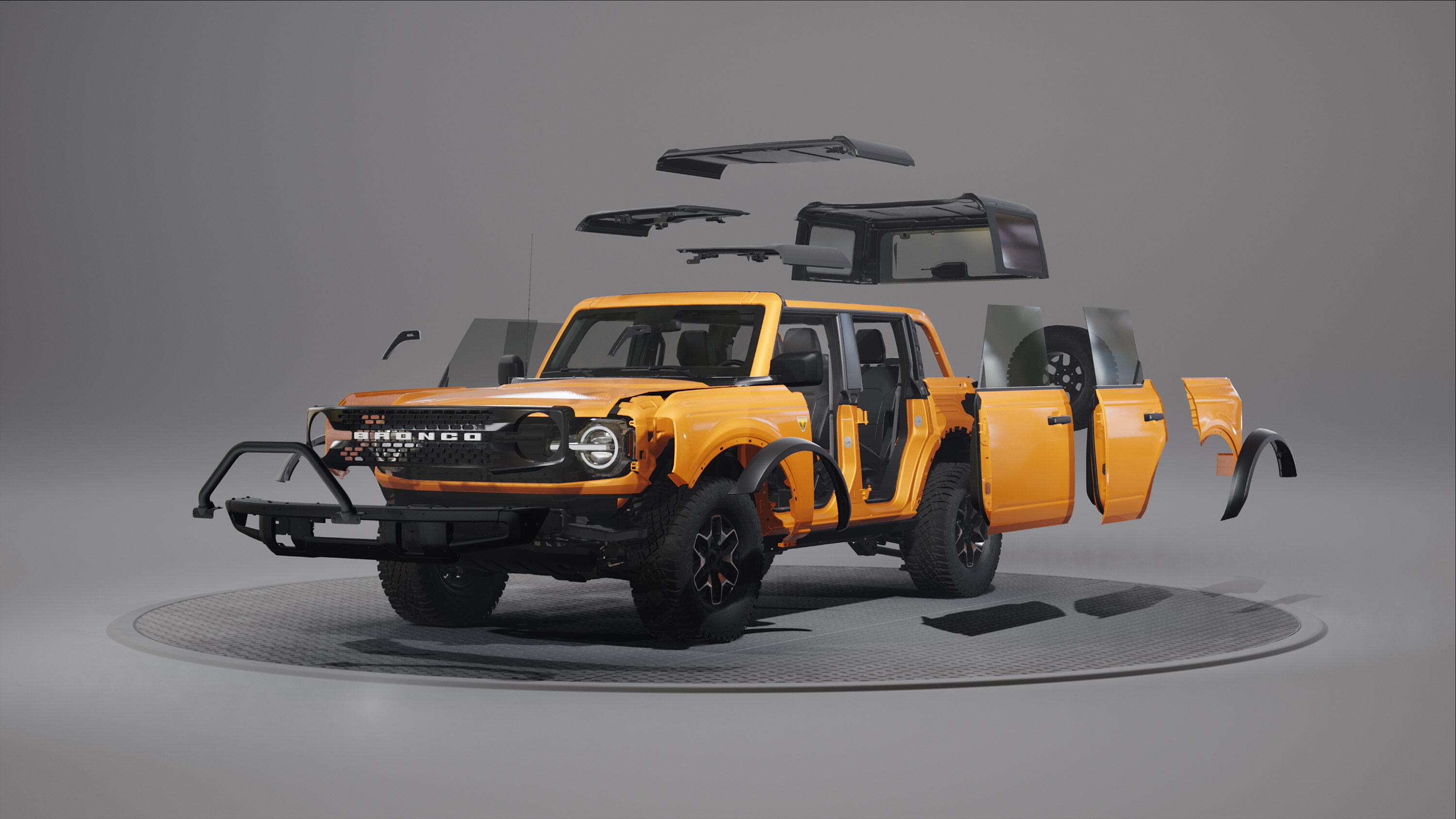 2021 Ford Bronco Modularity