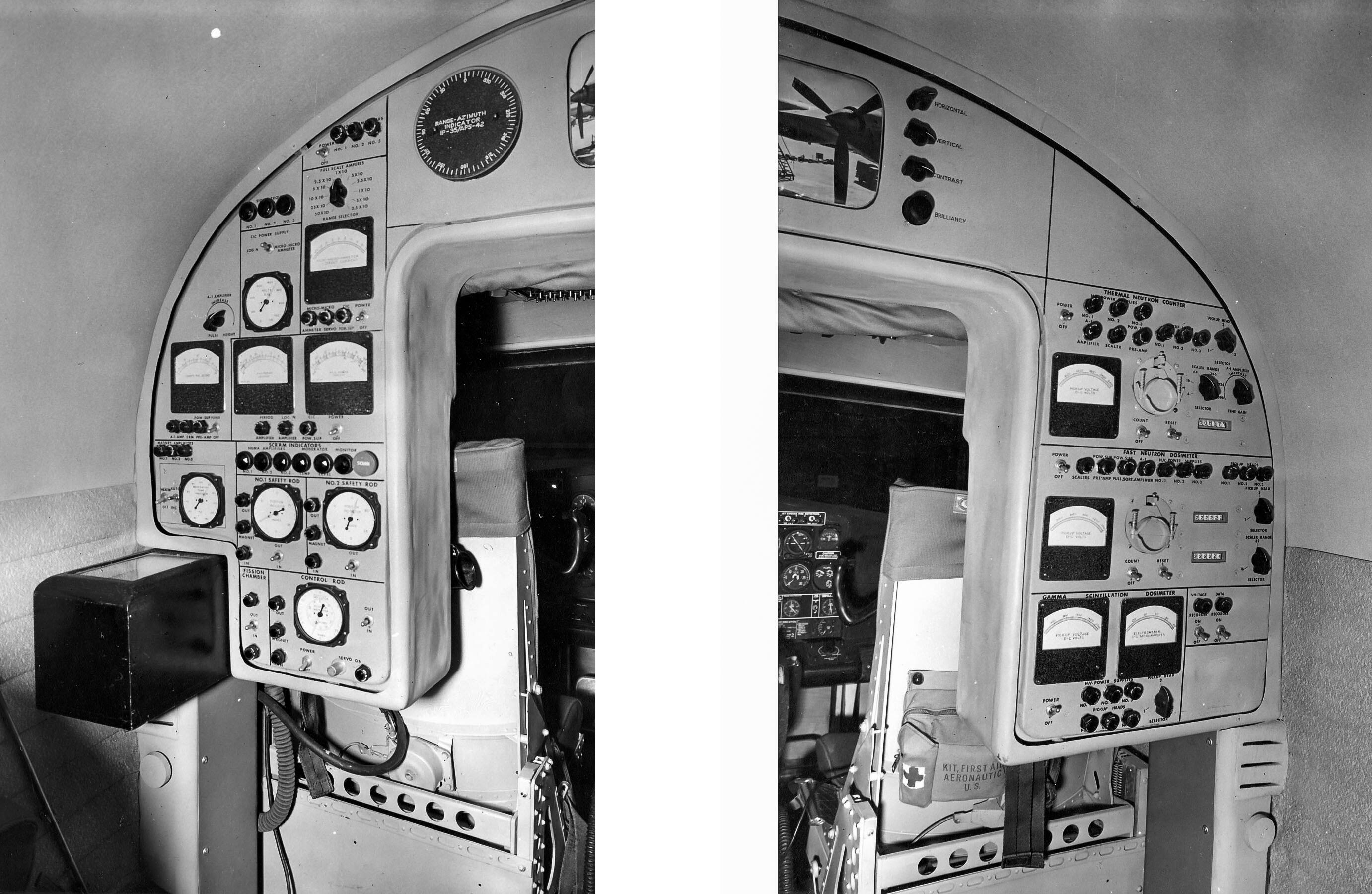 Nuclear engineer panels