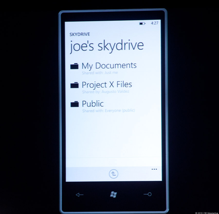 External sharing over Skydrive