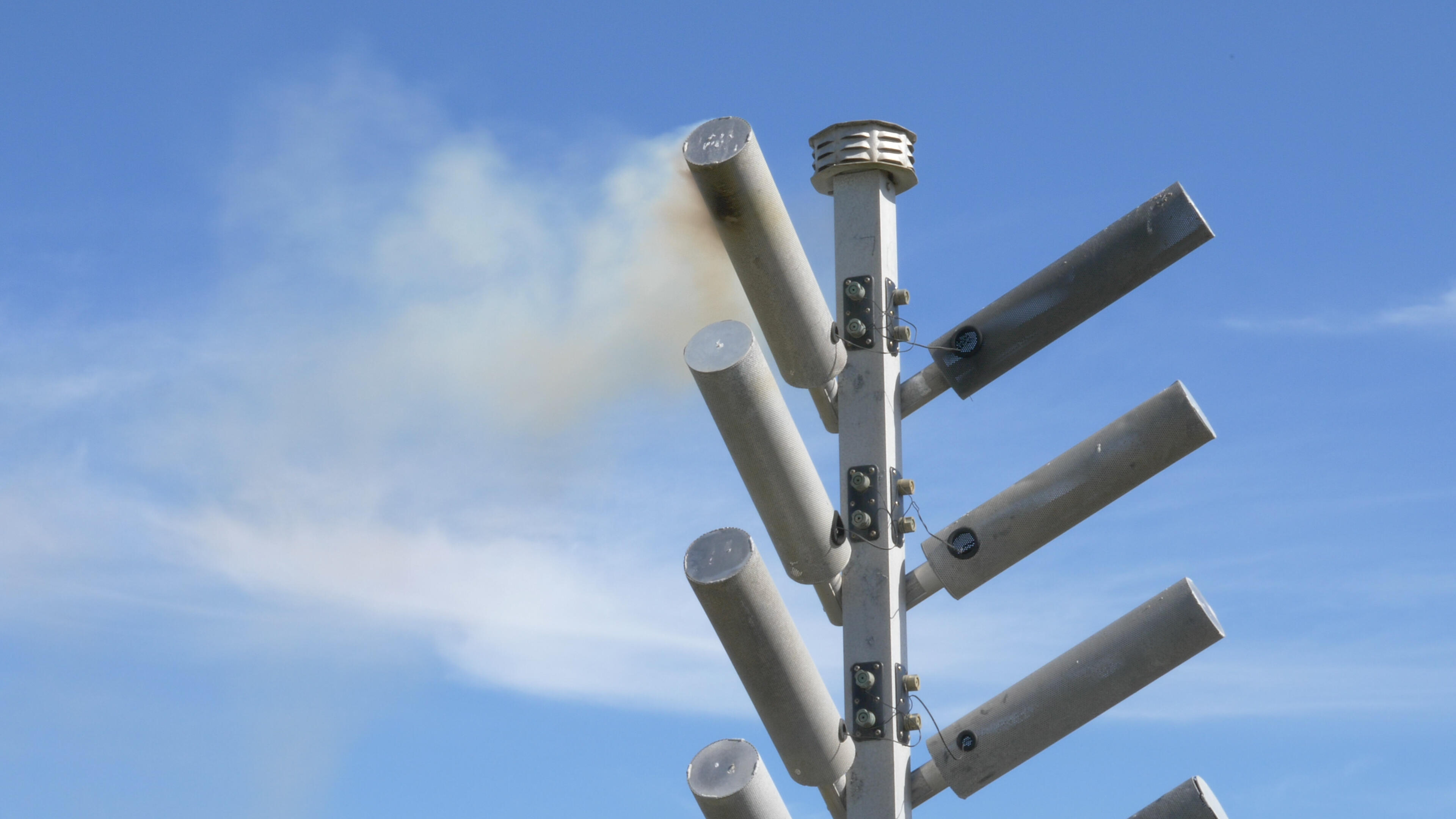 Video: Cloud-seeding site walk-through and demonstration