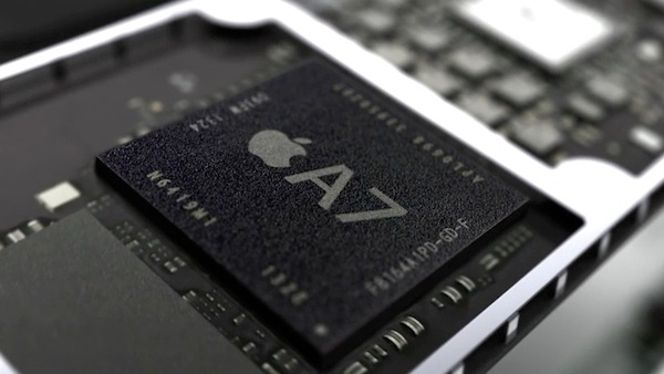 The 64-bit Apple A7 chip is now being used in all of Apple's marquee iOS products, including the newest iPhone and iPad.