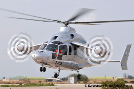 The Eurocopter X3.