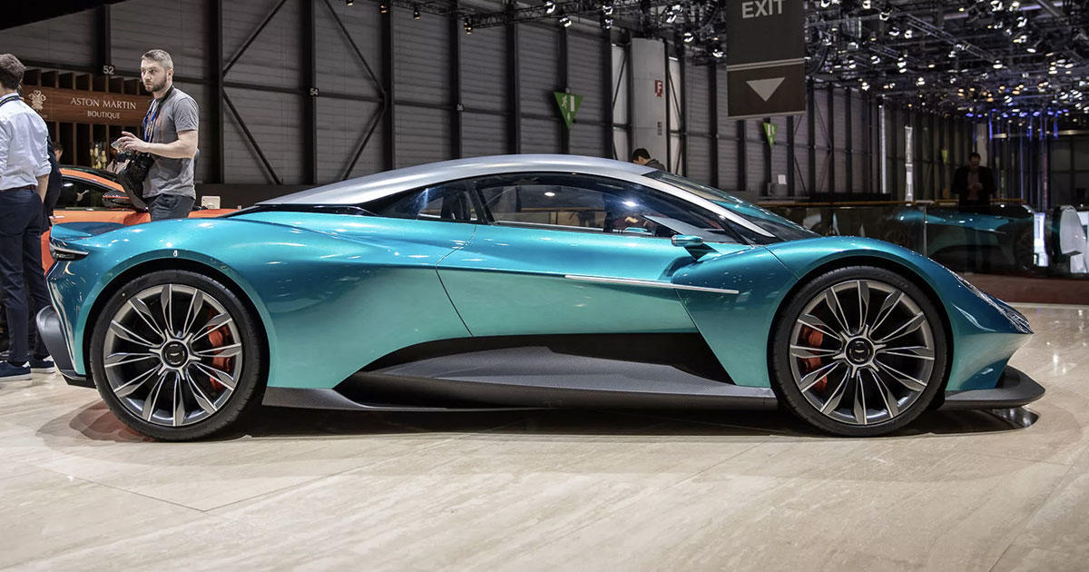 Video: The Vanquish Vision Concept shows a midengined supercar future for Aston Martin