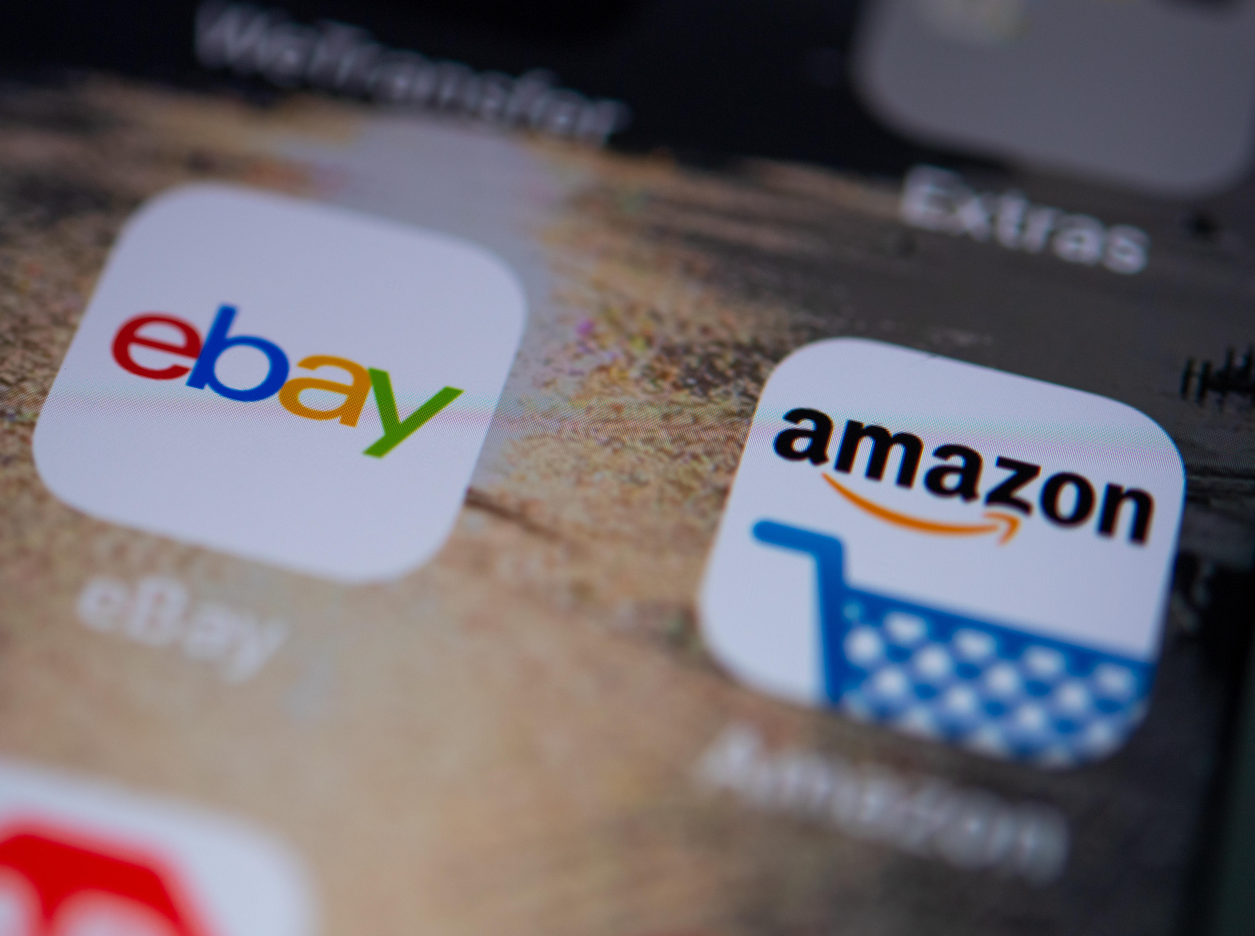 Apps from amazon and ebay