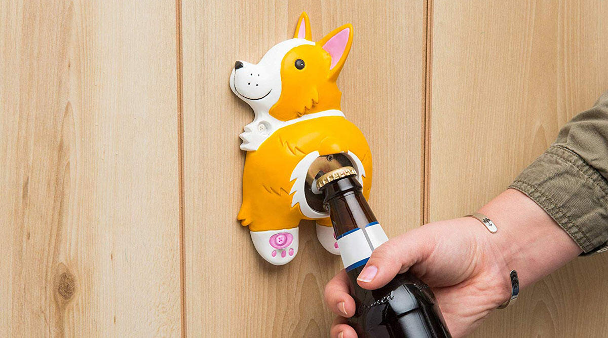 A bottle opener that's just a corgi butt 🐾