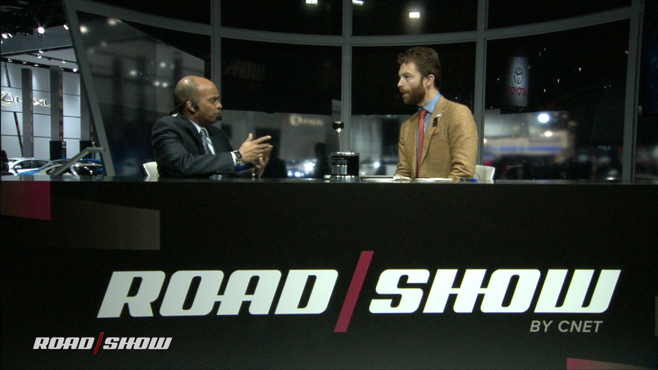 Video: Talking tech with Ford CTO Raj Nair from the Detroit Show Floor