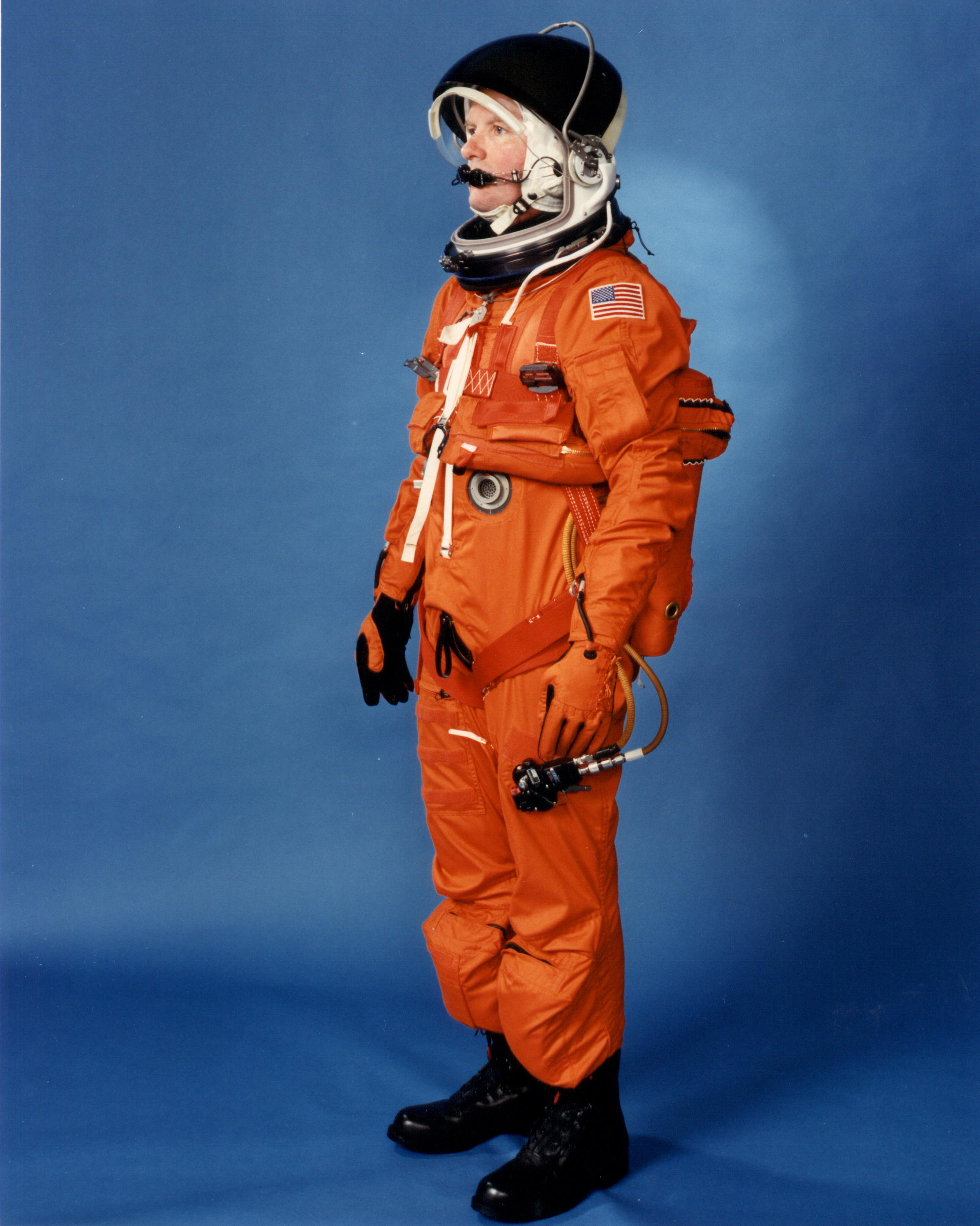 Orange launch and entry gear