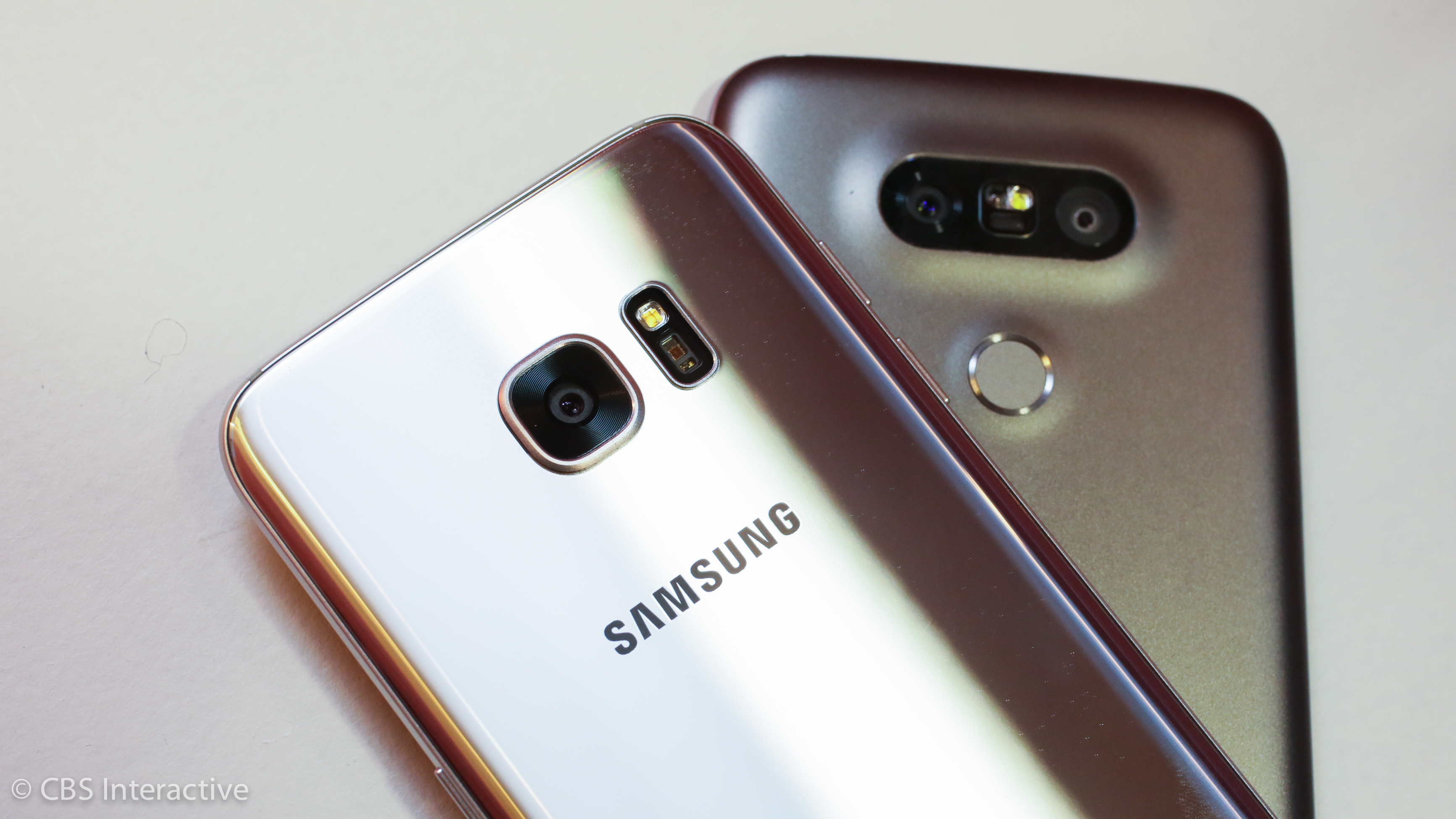 Samsung Galaxy S7 and LG G5 phones