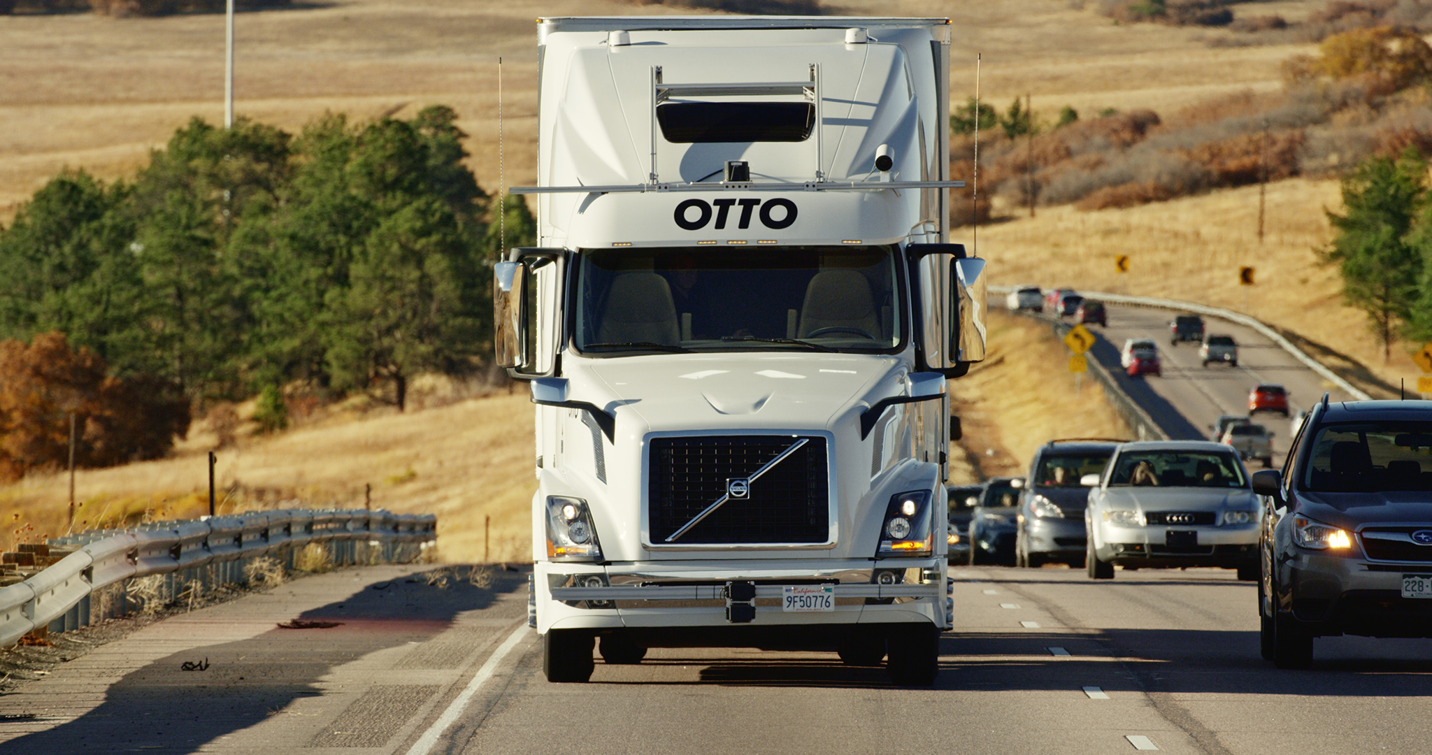Otto Self-Driving Beer Truck