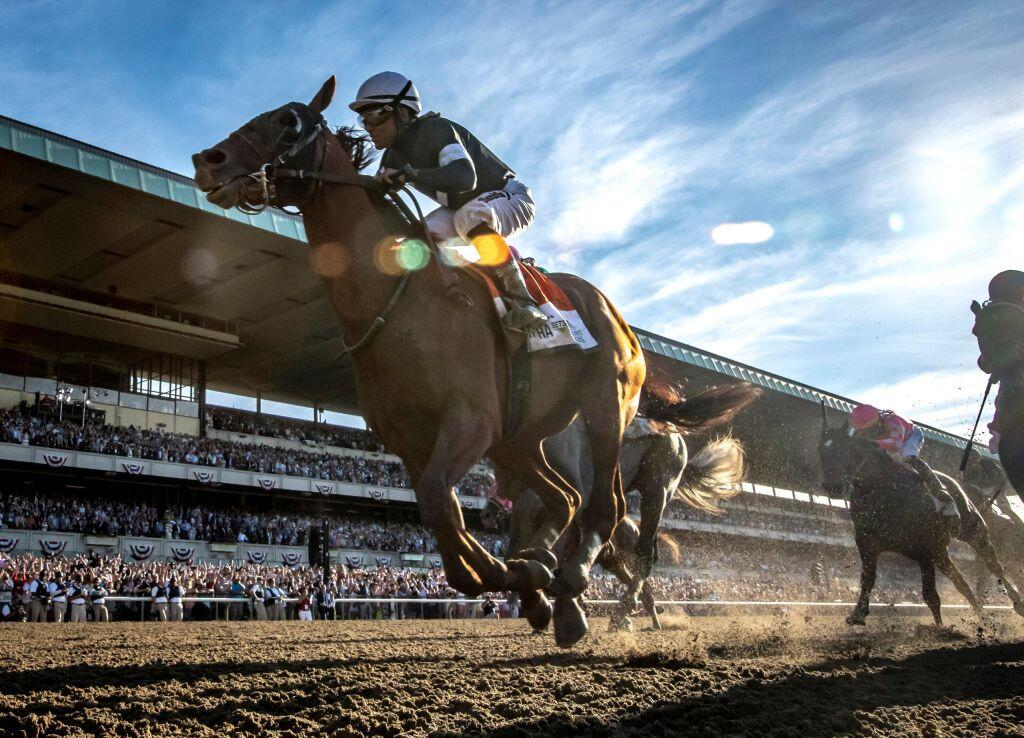 <p>The 153rd running of the Belmont Stakes takes place on Saturday on NBC.</p>