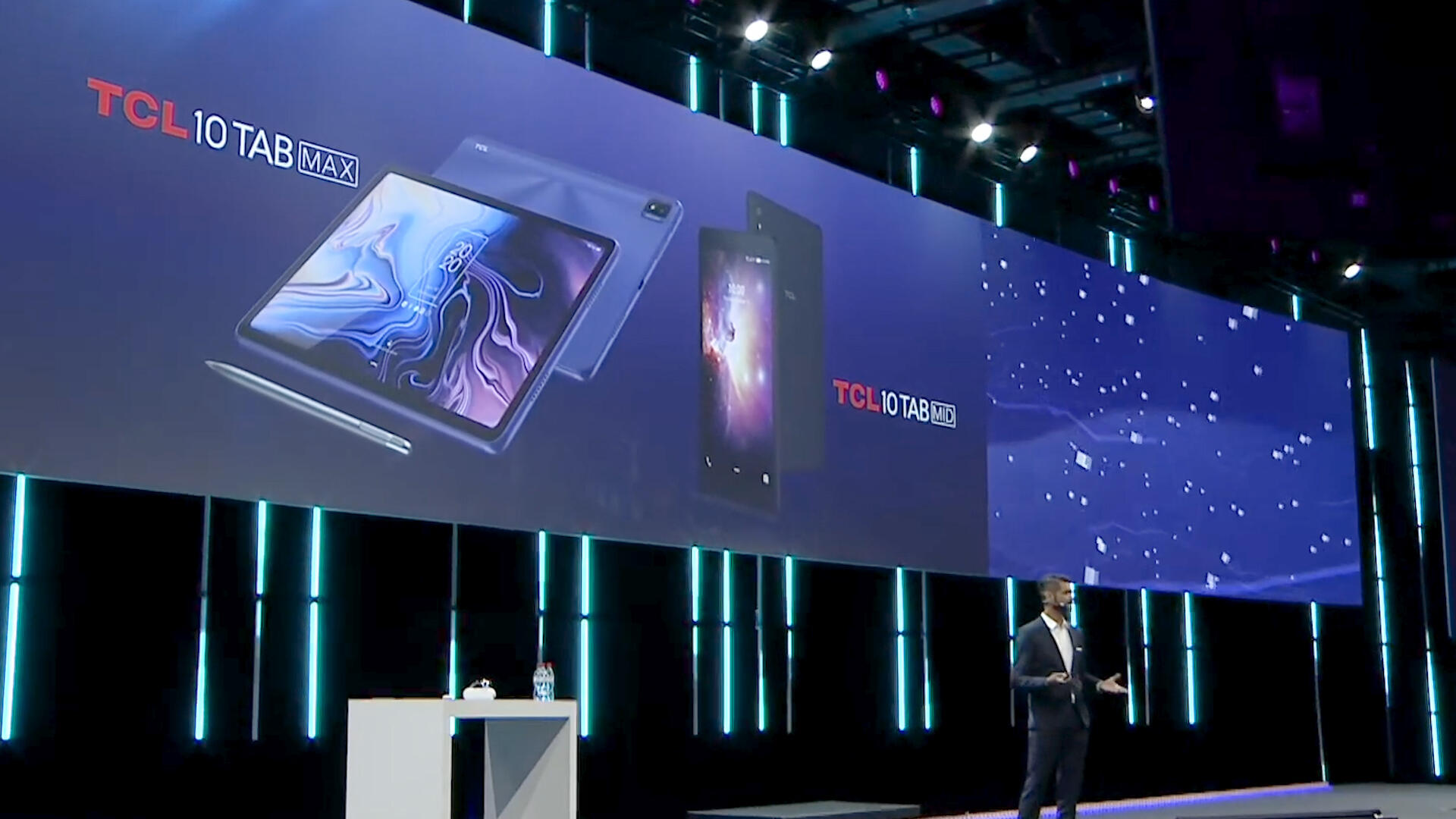 Video: TCL touts TV tech on two 10-inch tablets