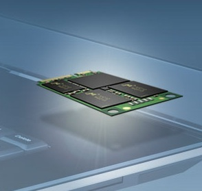 Crucial m4 mSATA solid-state drive is tiny but is available in capacities up to 256GB.