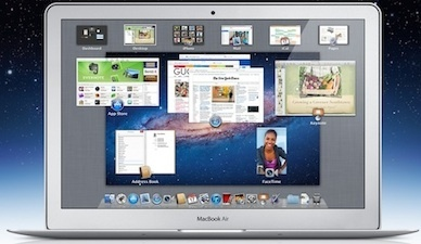 Current 13.3-inch MacBook Air with 1,440-by-900 display.