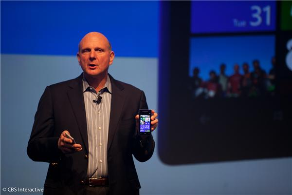 Steve Ballmer and HTC Windows Phone