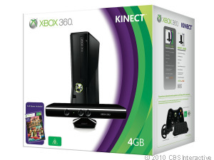 Microsoft's Kinect Bundle accompanies a special deal on Amazon.