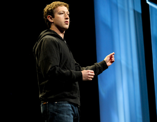 Mark Zuckerberg at F8 in 2010