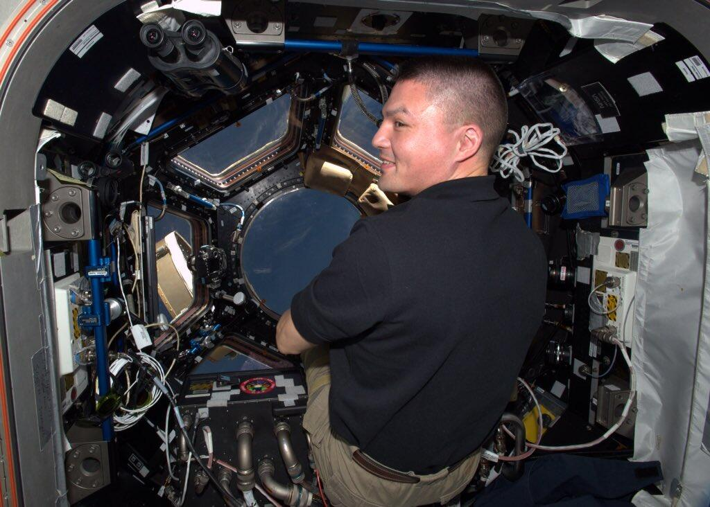 TIE fighter on the ISS