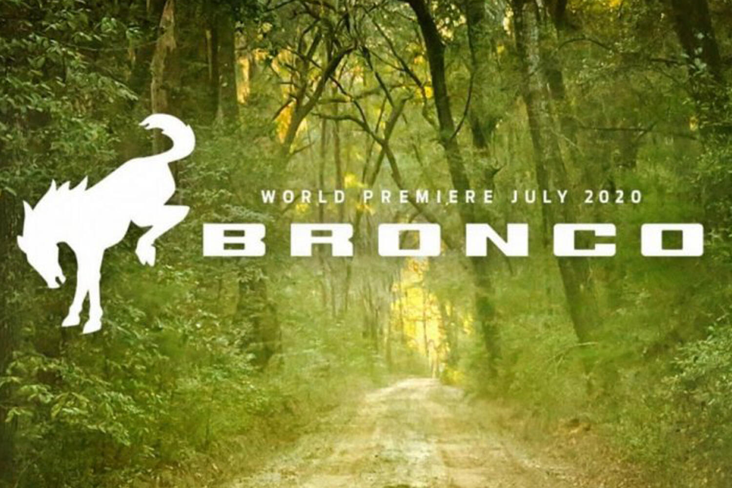 Ford Bronco July debut