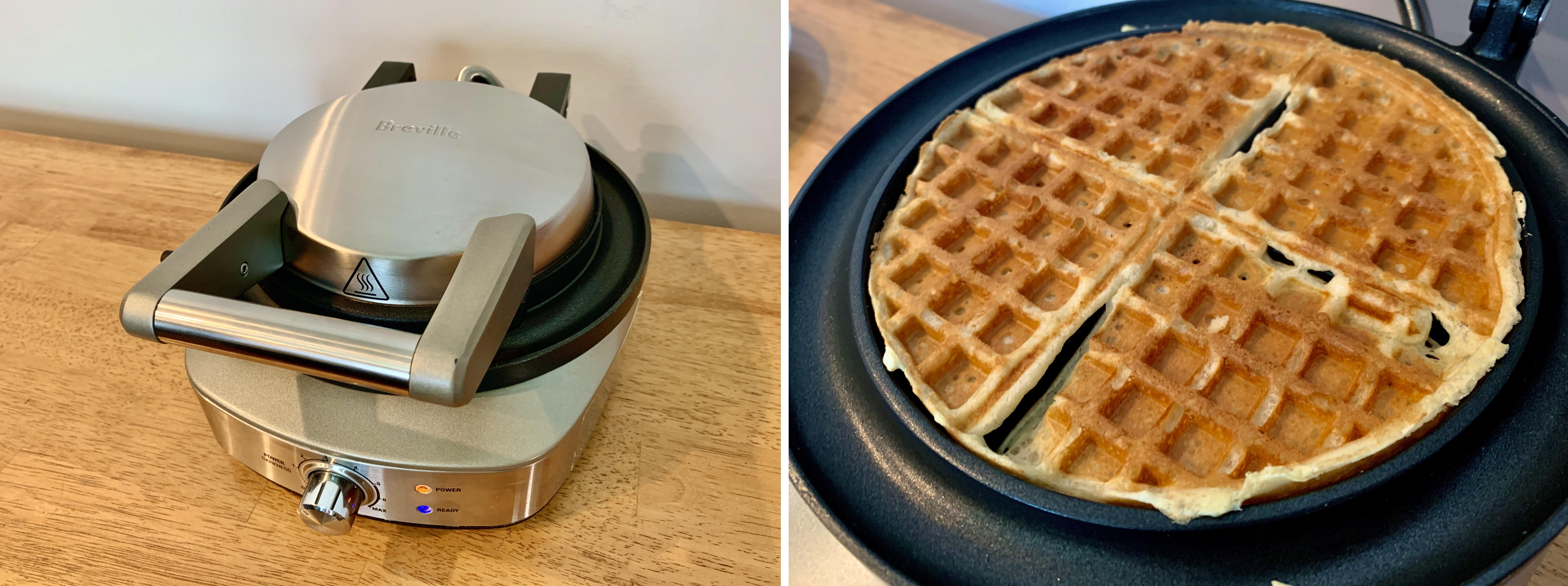 breville-waffle-maker-and-waffle