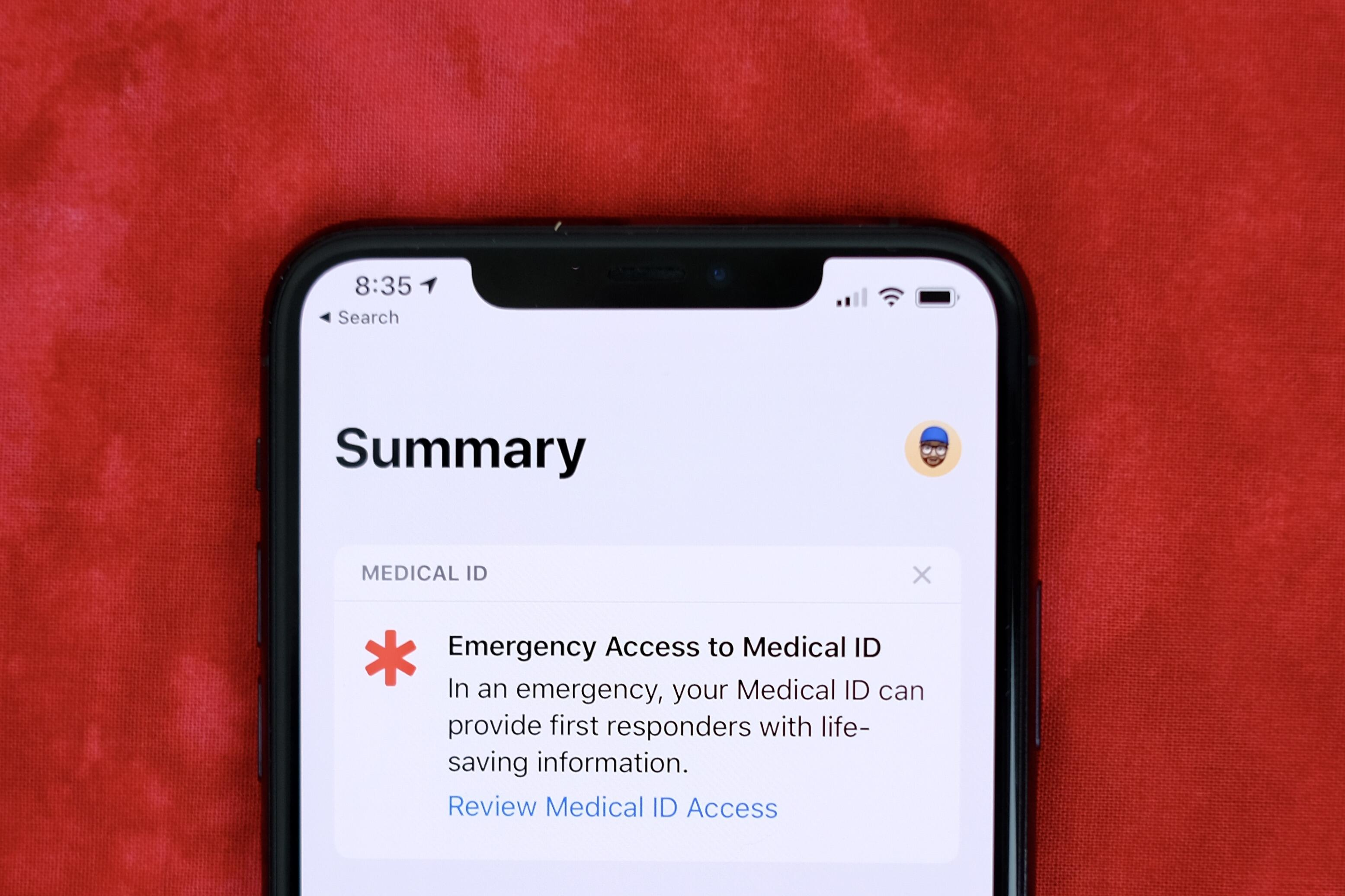 turn-on-medical-id-access