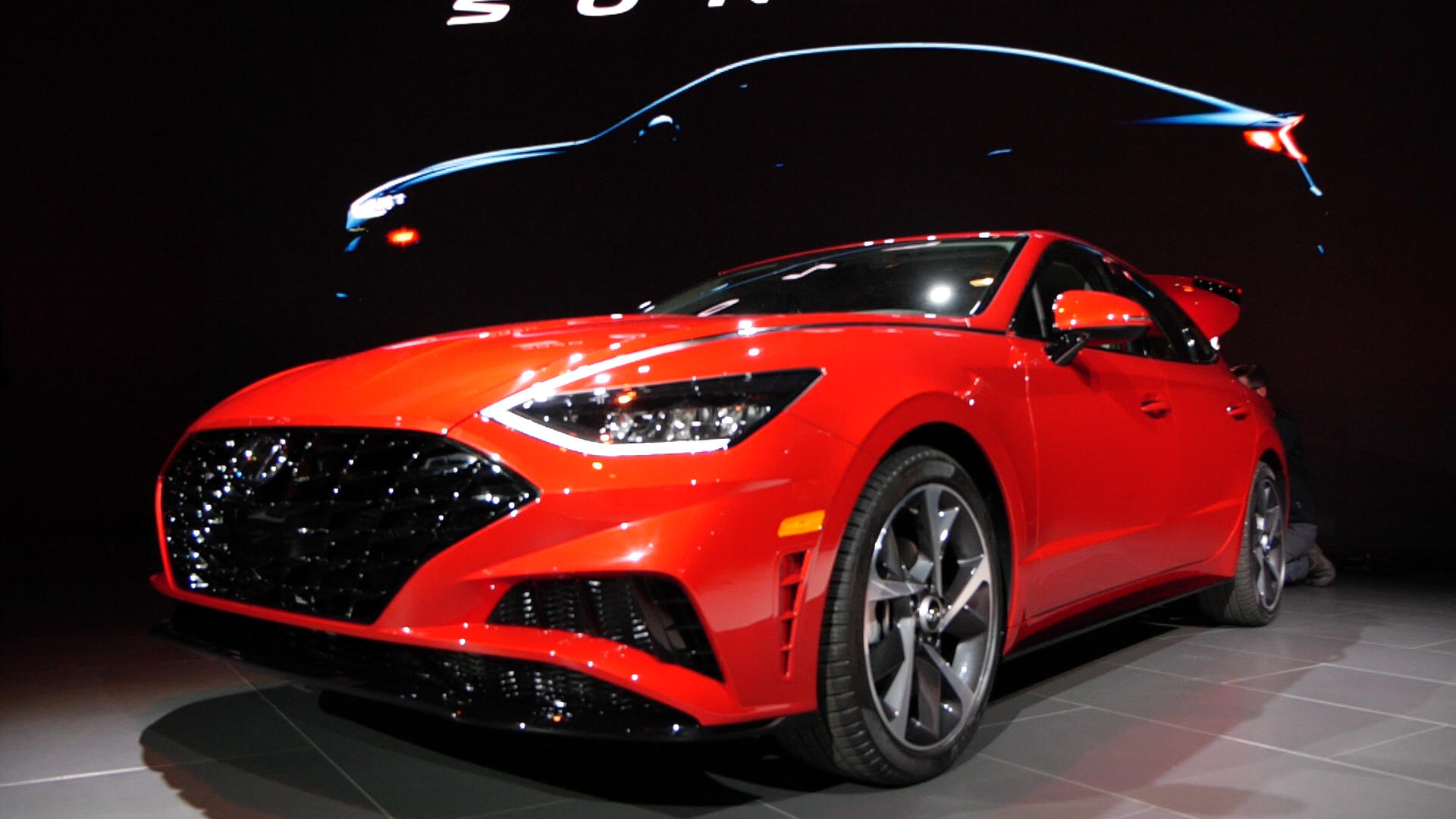 Video: 2020 Hyundai Sonata brings an extra dose of style to New York Auto Show