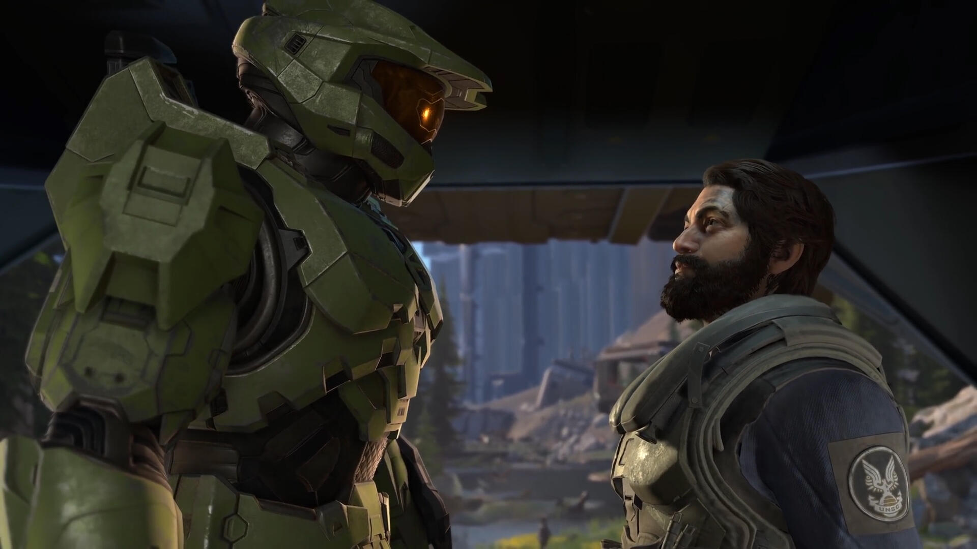 Video: Microsoft debuts Halo Infinite gameplay