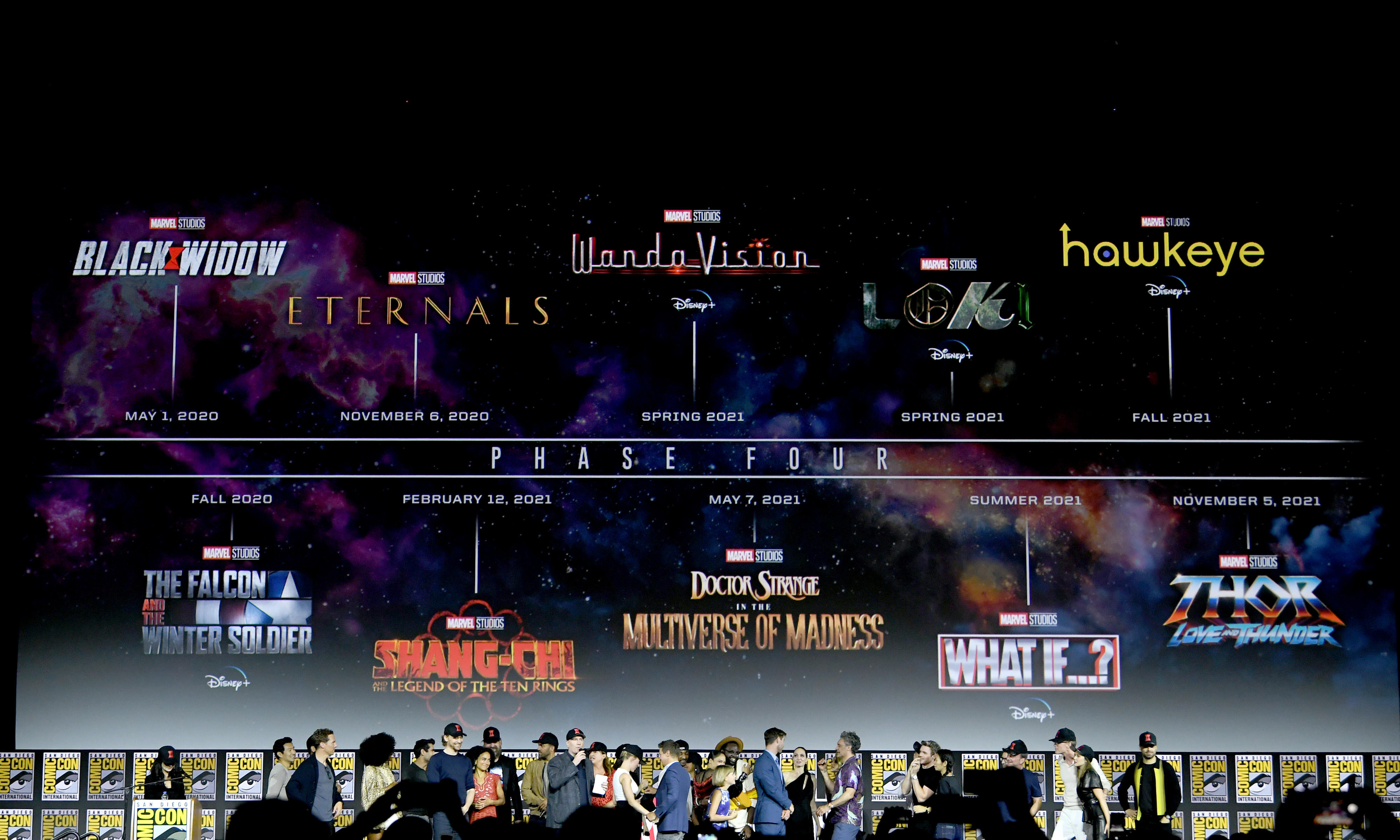 Video: Marvel's Phase 4 plan explained