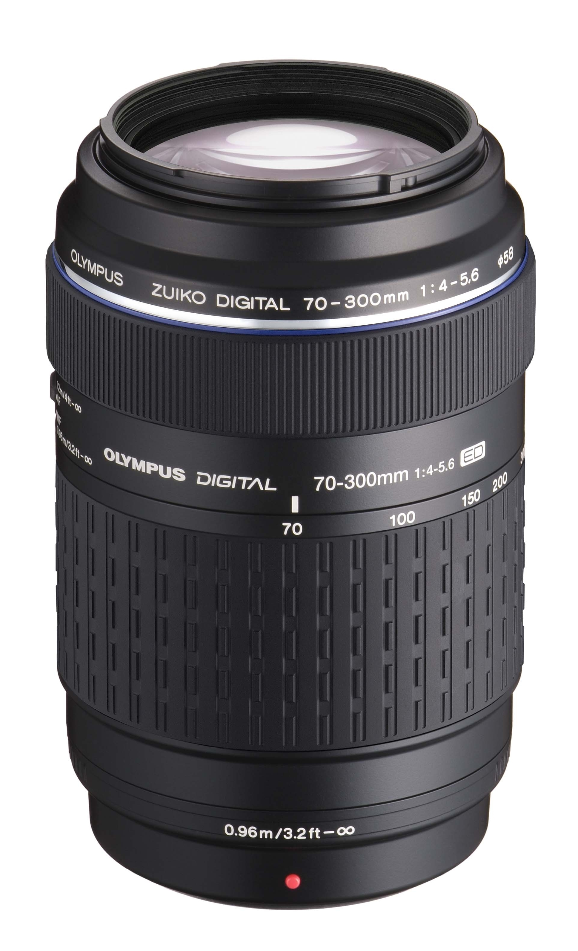 Olympus' 70-300mm zoom lens will ship in September.