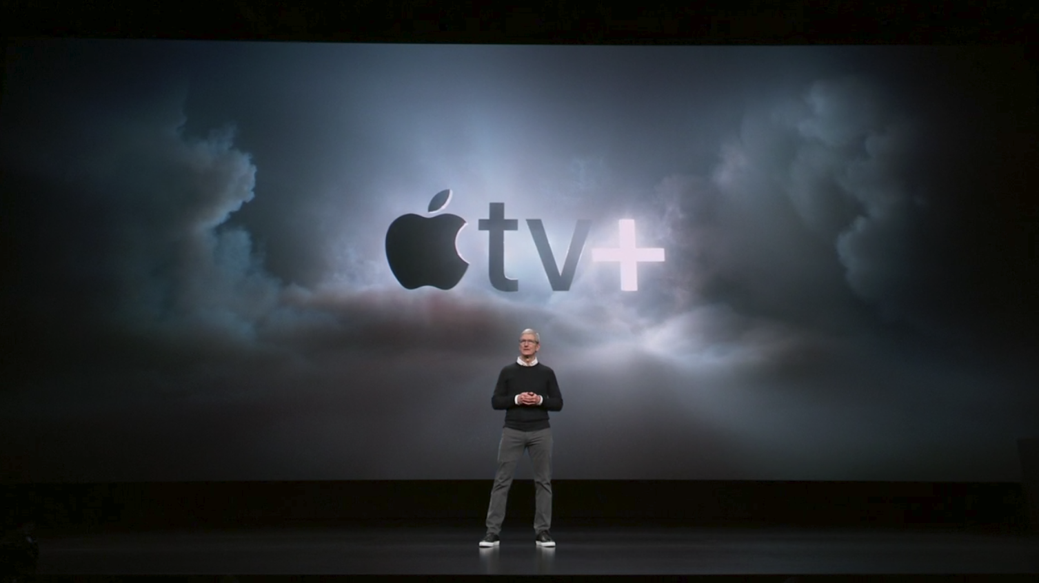 March 2019 - Apple switches to services