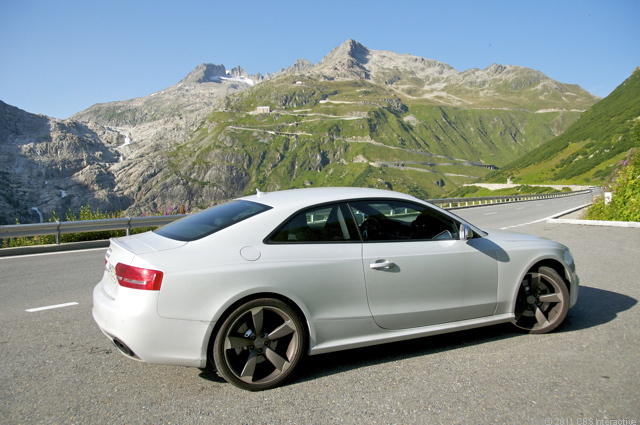 RS 5 and the Swiss Alps