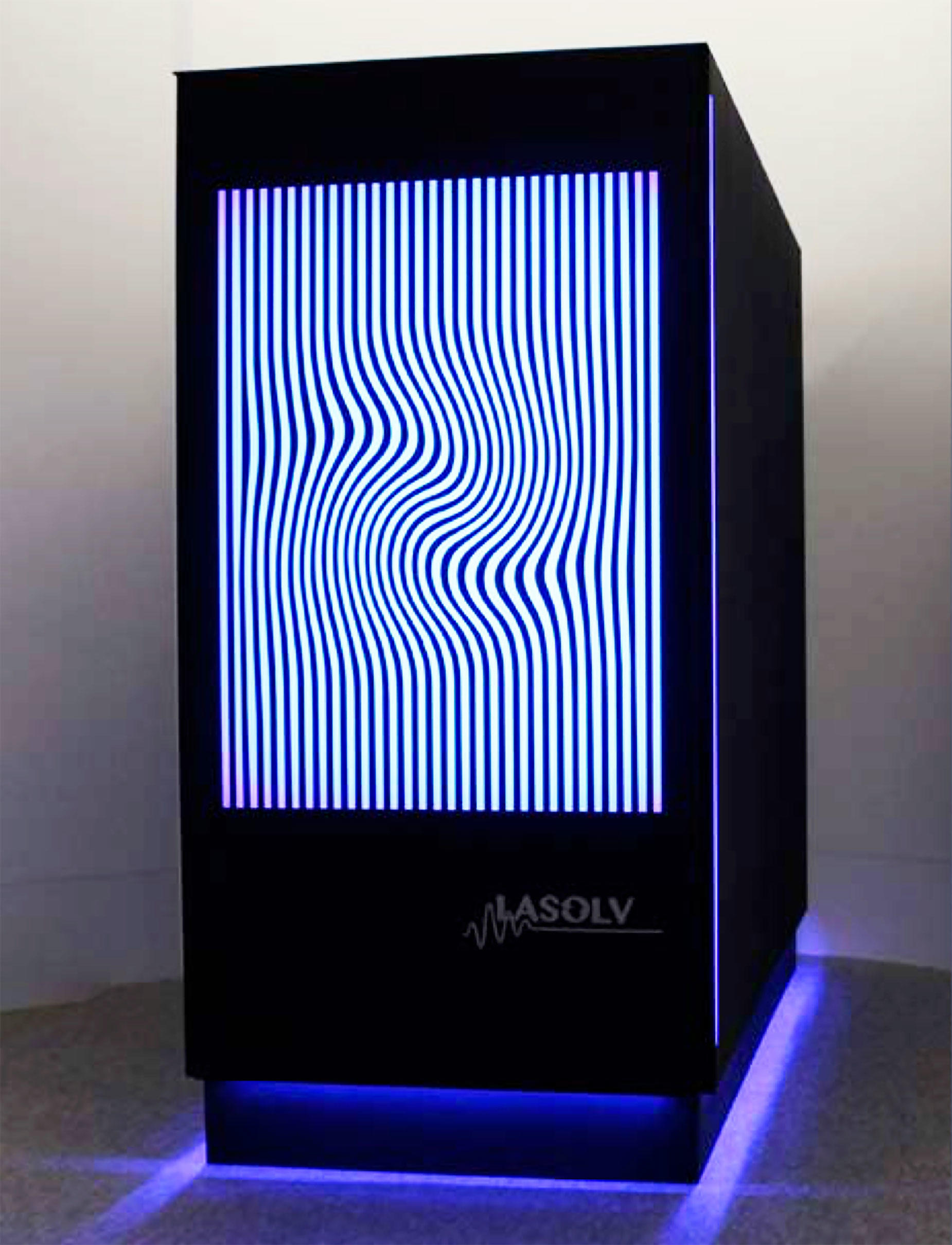 NTT's LASOLV computer is designed to tackle computing challenges using the interaction of light waves.